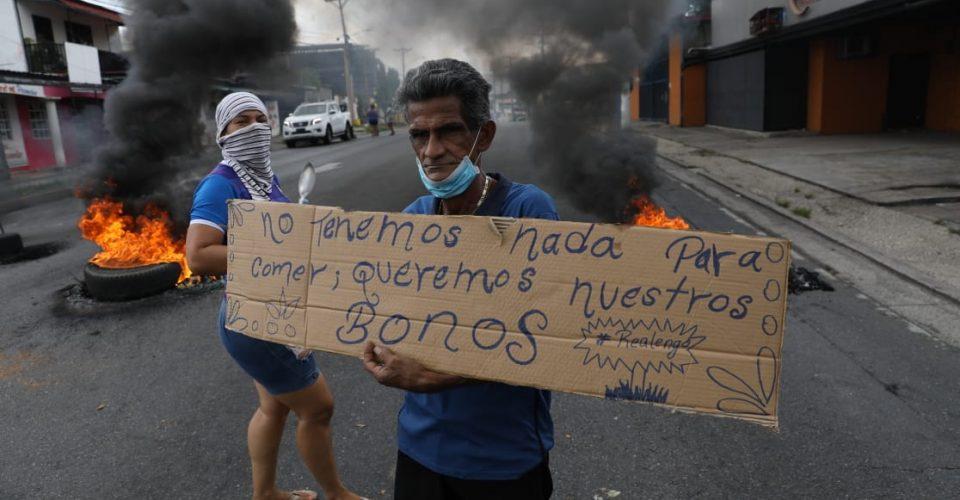 Protestas en Panamá Covid-19